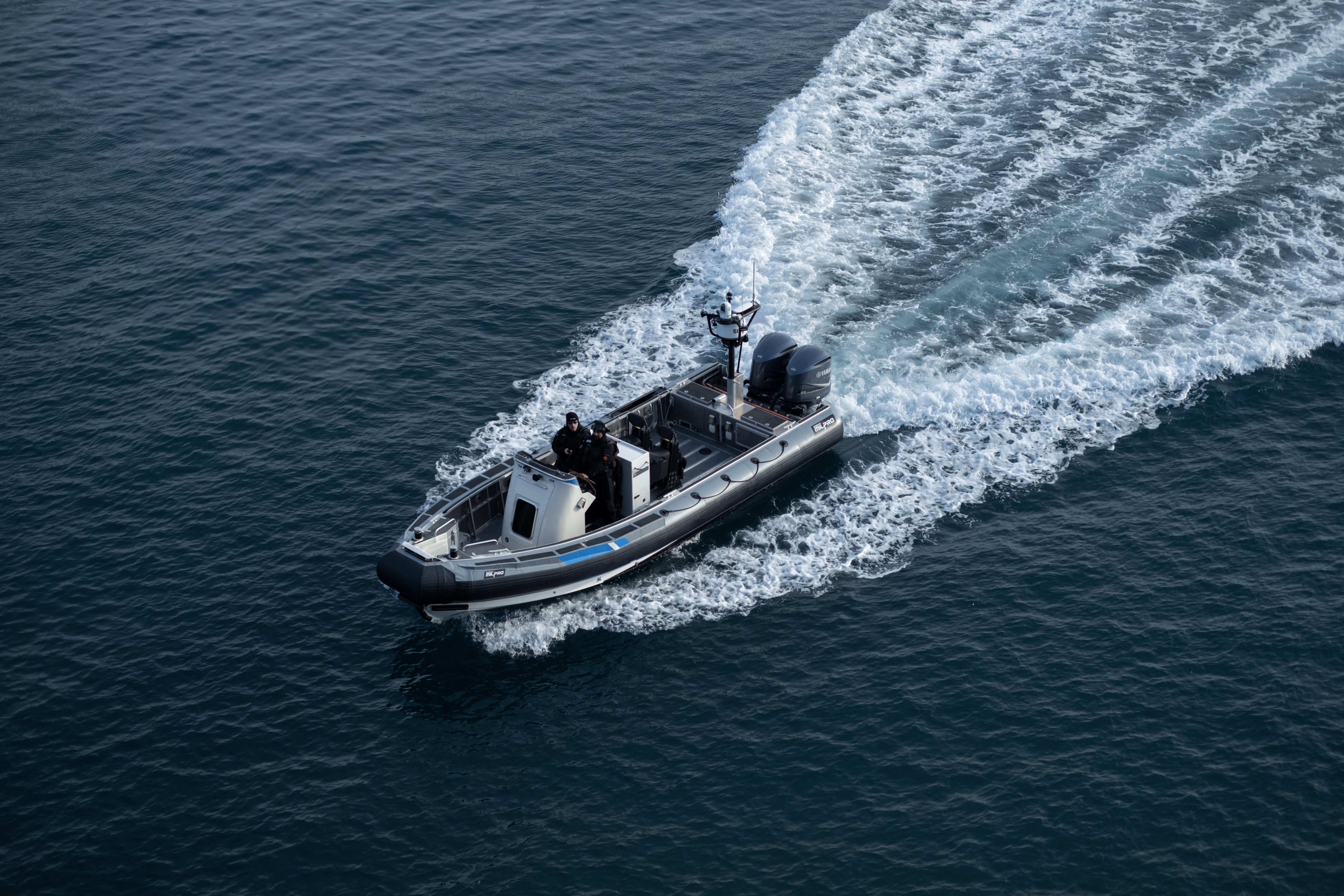Zodiac Milpro SRA 850 OB Coast Guard Finland